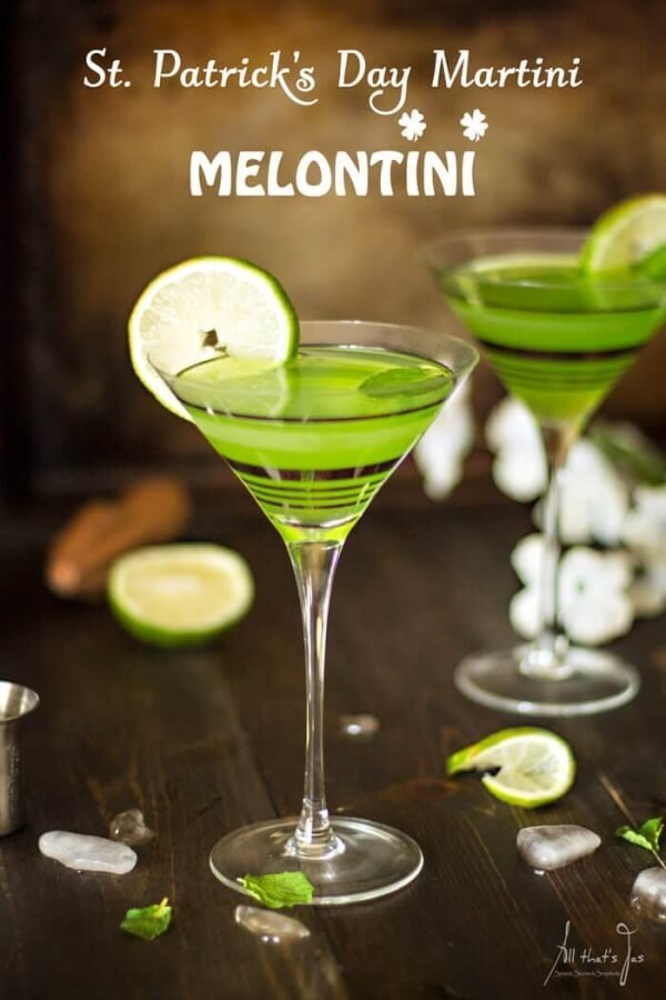 Week 217 - St Patrick's Day Martini Melontini from All That's Jas
