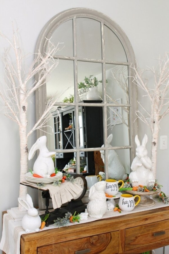 Week 219 - Spring Dining Room Decor from Clean and Scentsible
