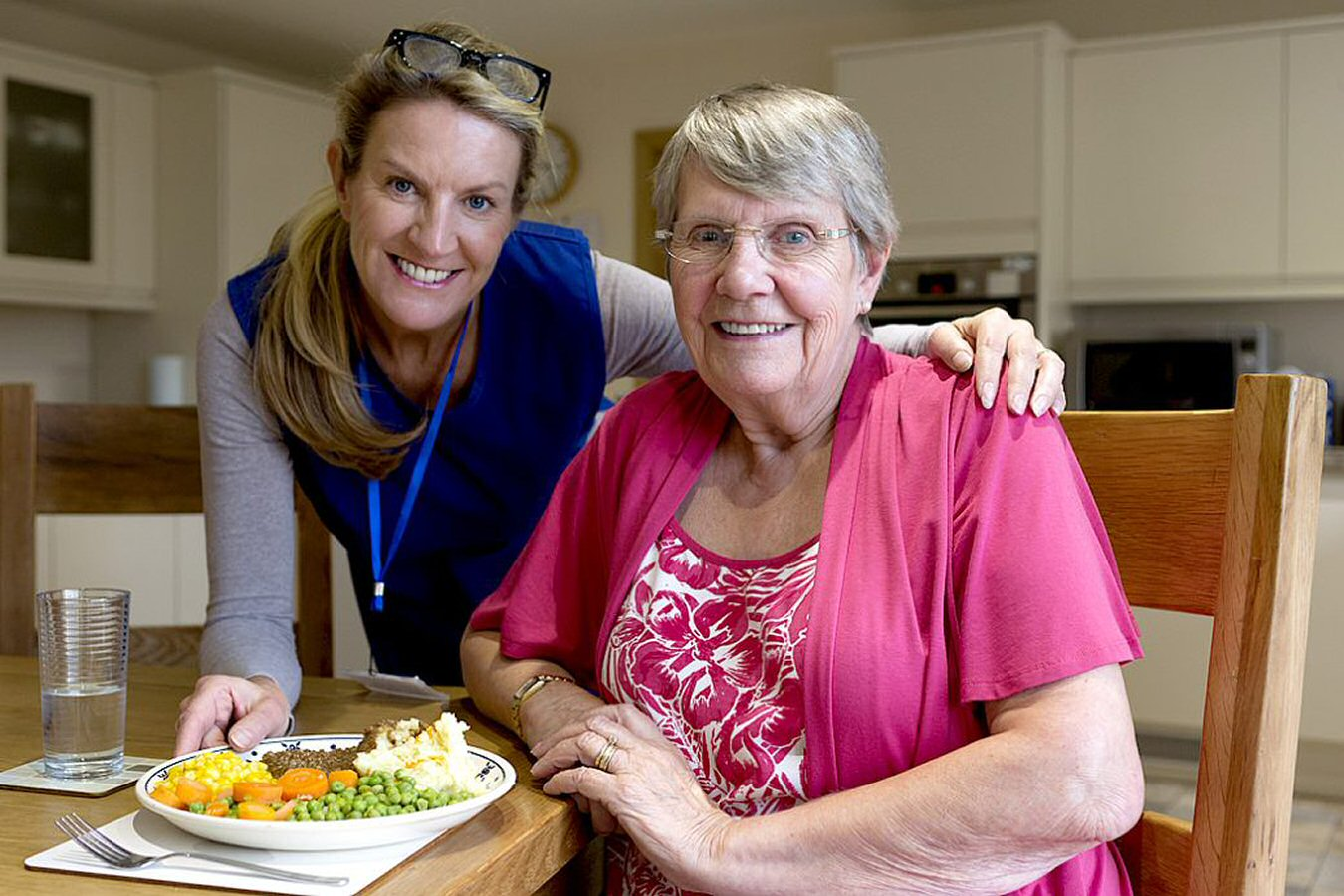 delivering meals is a great way to help an injured loved one