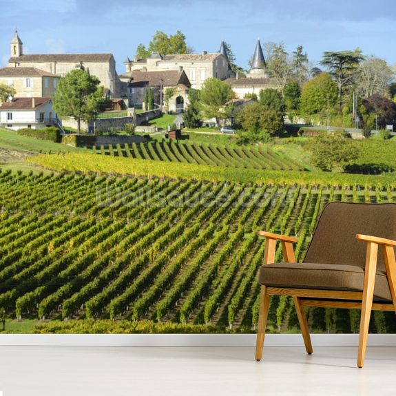Saint Emilion, Bordeaux Vineyards - Wallsauce.com