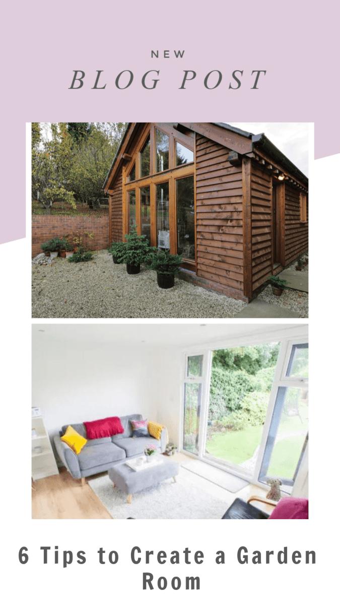 6 Tips to Create a Garden Room Build
