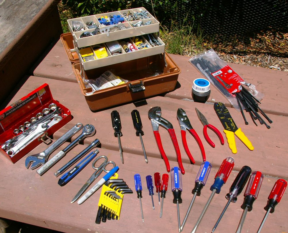 mechanical tool kit for rv camping