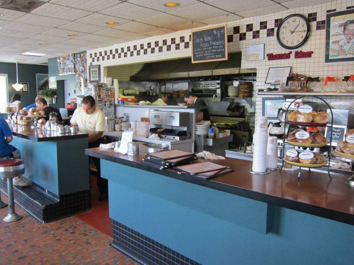 thomas's ham 'n eggery diner