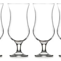 Epure Venezia Collection 4 Piece Glassware Set (Pina Colada (15.5 oz))