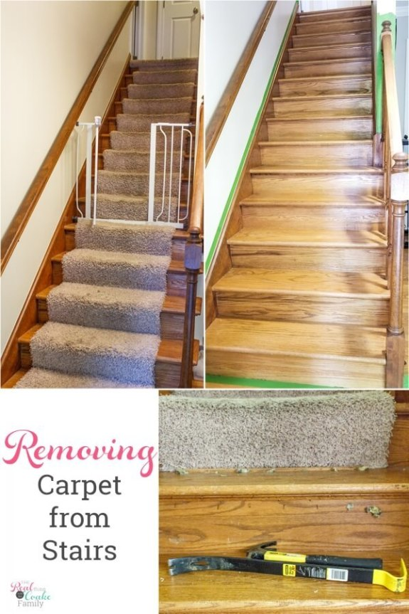 Week 238 How to Remove Carpet From Stairs from The Real Coake Family