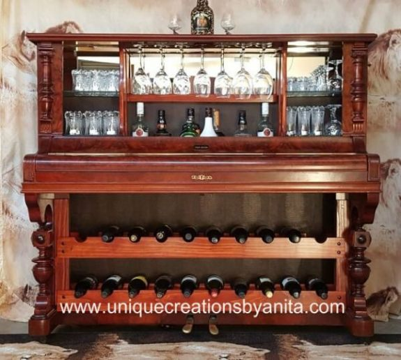 Week 238 How to Turn a Piano Into a Bar from Unique Creations by Anita