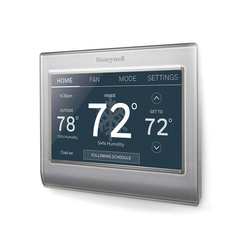 Honeywell RTH9585WF1004/W Home Wi-Fi Smart Color Programmable Thermostat, Alexa Enabled