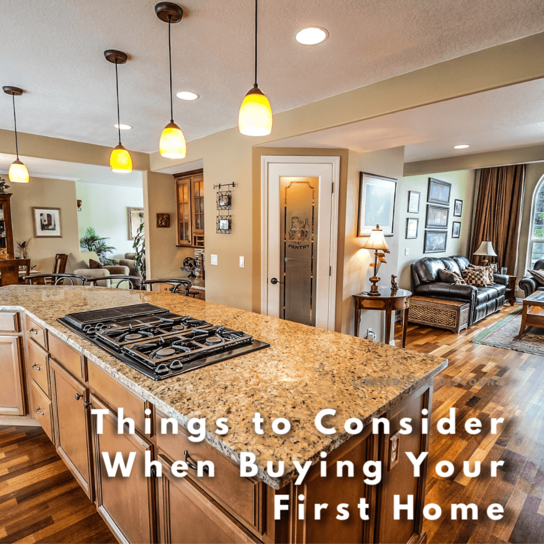 consider these tips before buying your first home