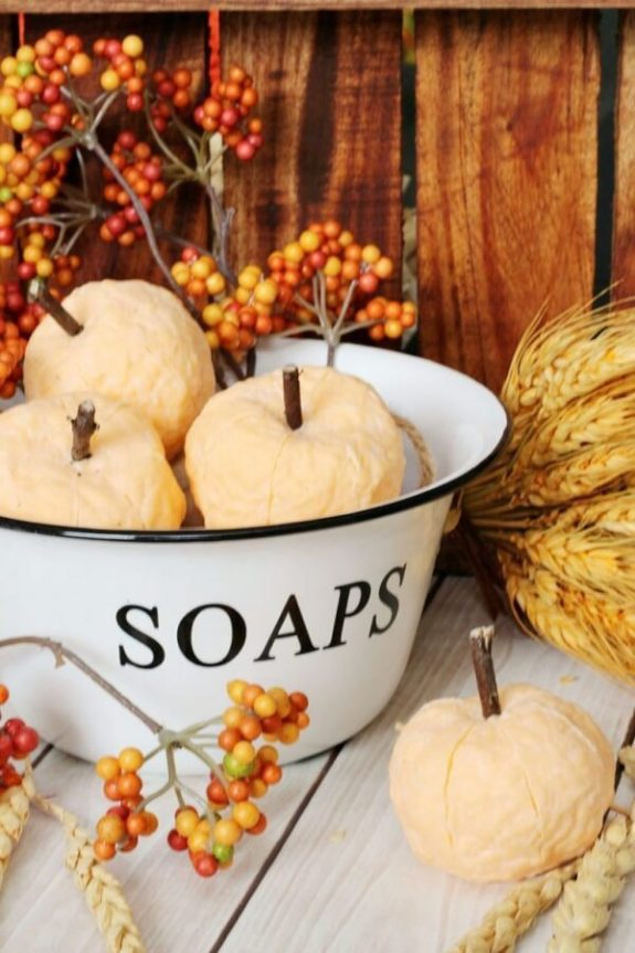 Week 243 DIY Pumpkin Soap from Clean and Scentsible