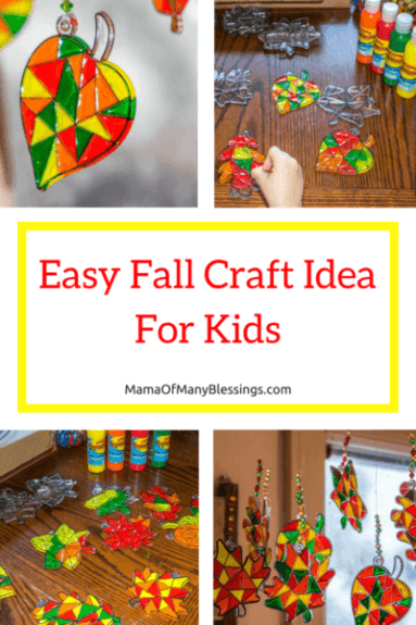Week 243 Fall Craft Ideas for Kids from Mama of Many Blessings