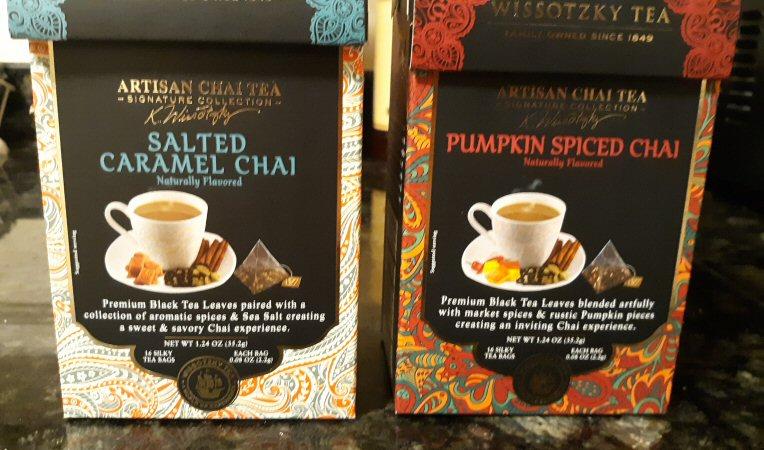 Salted Caramel Chai and Pumpkin Spiced Chai
