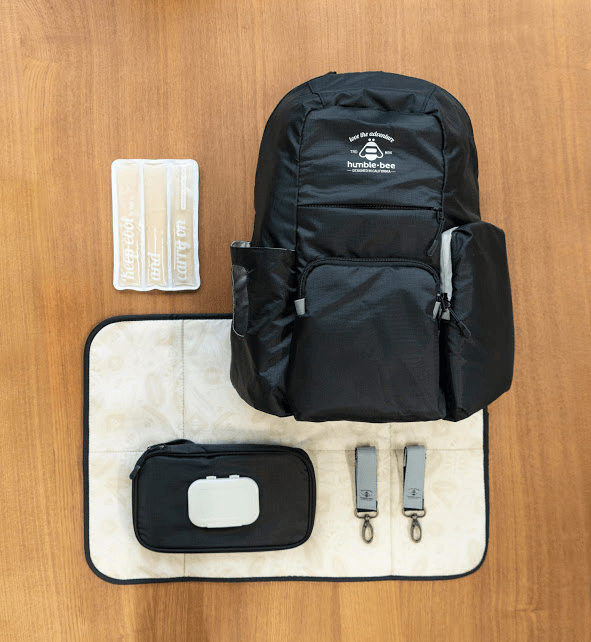 Free Spirit Diaper Backpack from Humble-Bee