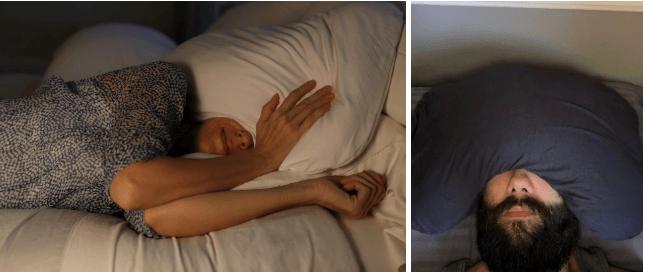 Sleep Crown Over the Head Pillow