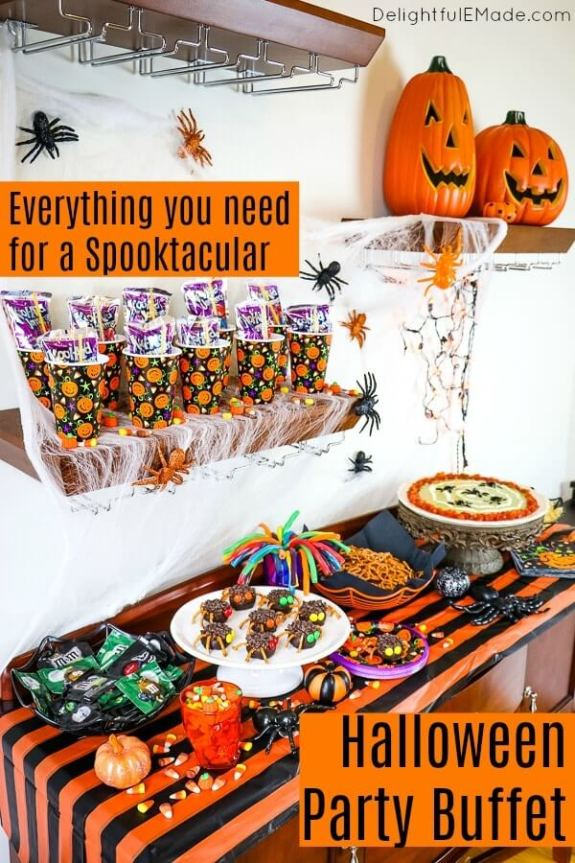 Week 250 Halloween Party Buffet from Delightful E Made