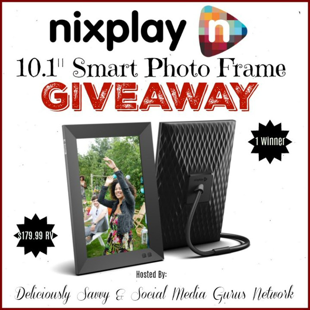 nixplay digital screen giveaway
