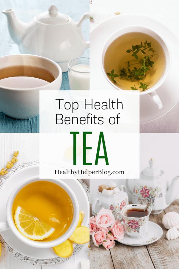 Week 252 - Health Benefits of Tea from Healthy Helper Blog
