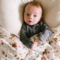 life in a house muslin swaddle blankets