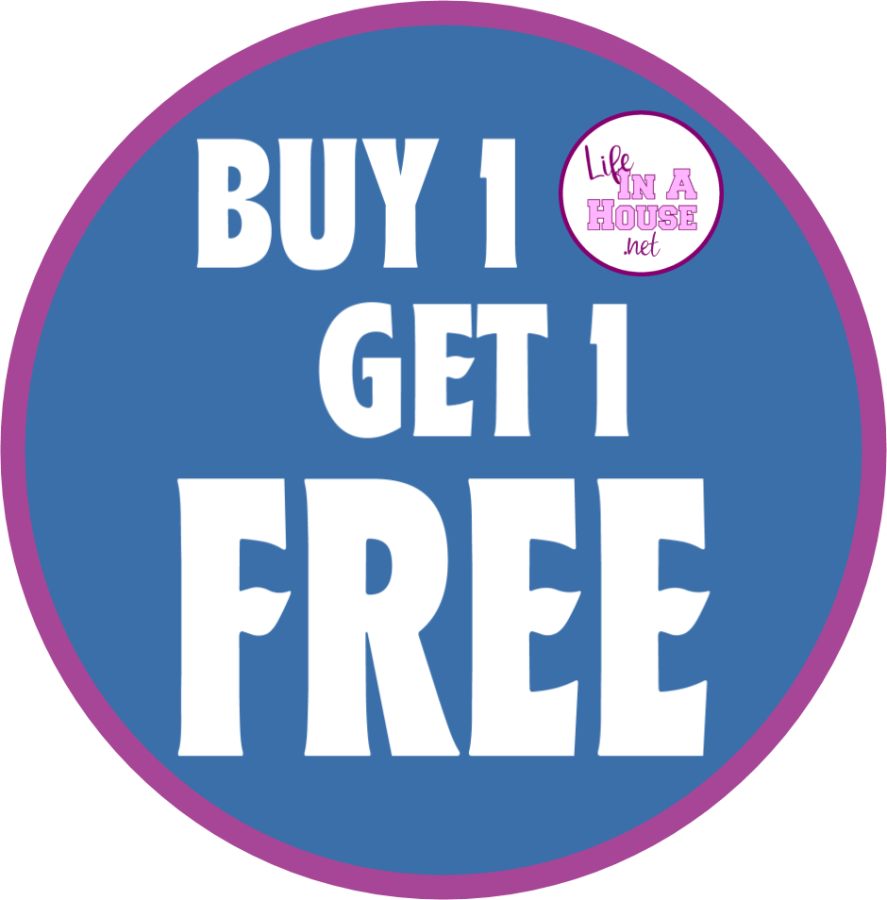 Buy 1 Get 1 Free Sale at Life in a House