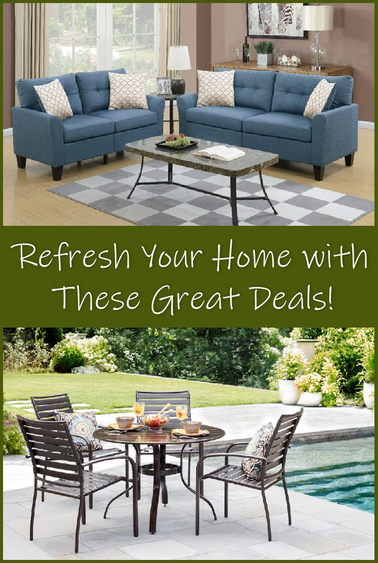 refresh your home and patio