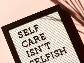self-care isn't selfish