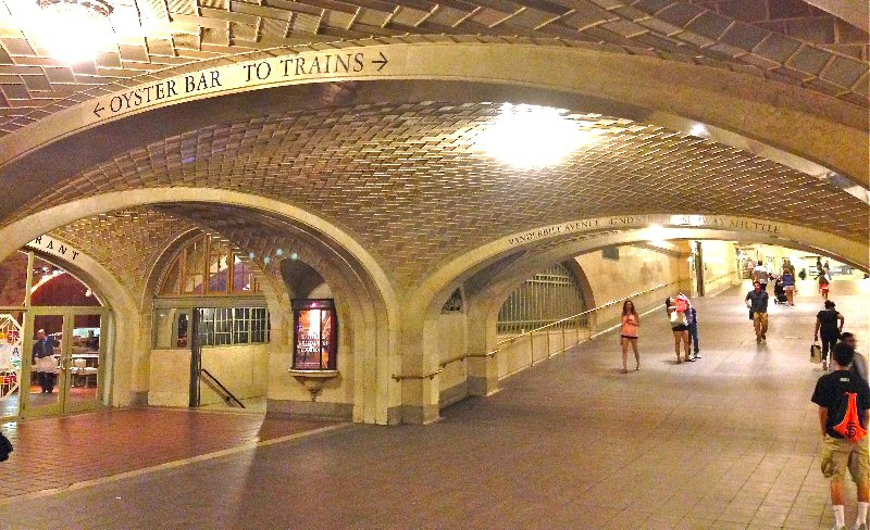 Whispering Gallery at Grand Central Station