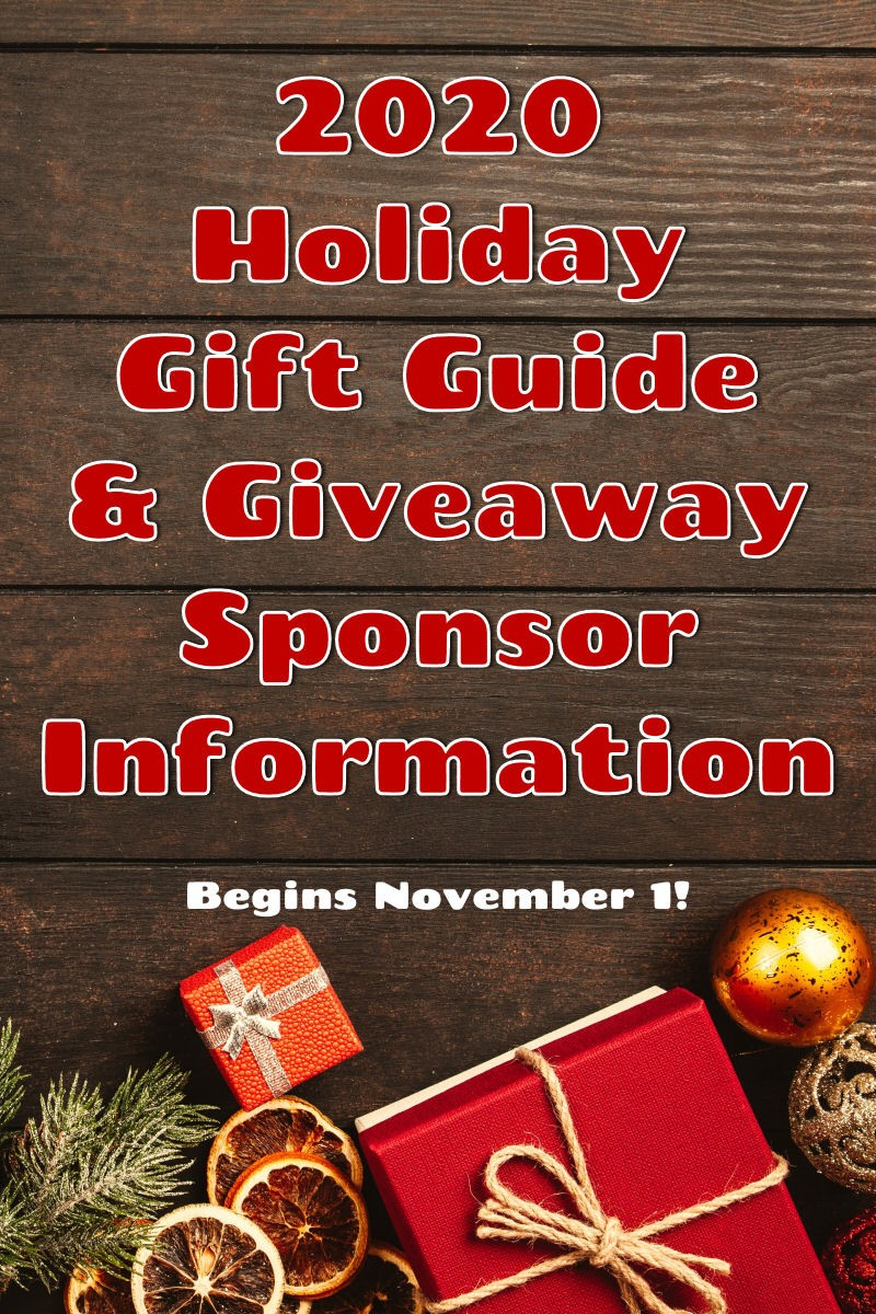 Life in a House 2020 Holiday Gift Guide and Giveaway Sponsor Information