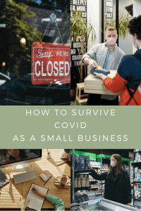 how to survive covid as a small business