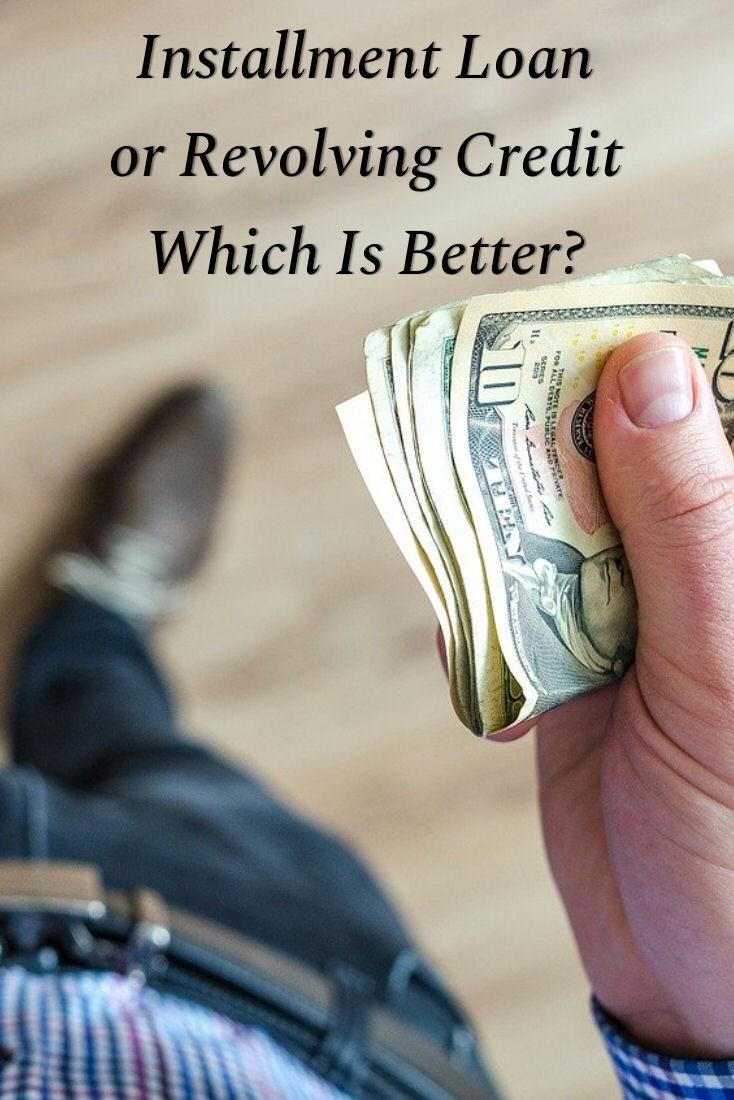 installment loan or revolving credit