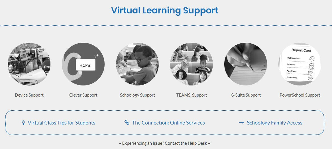 distance learning online support