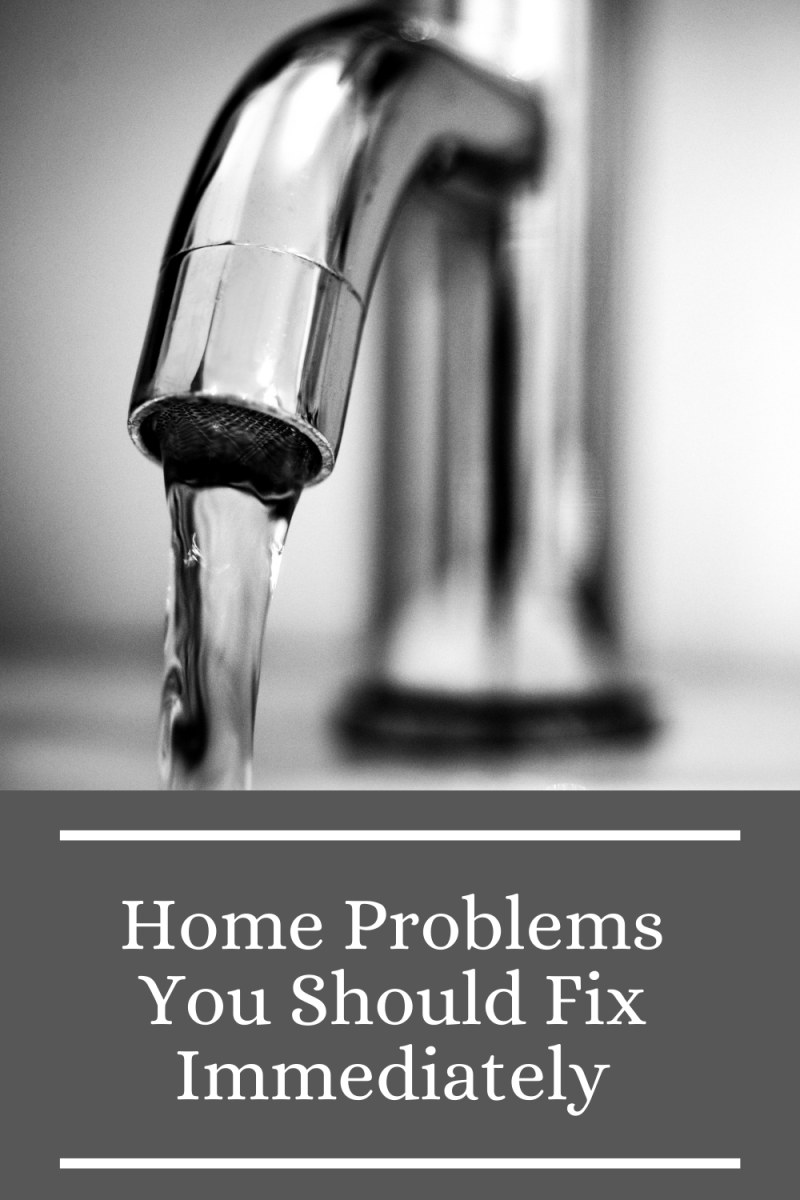 Home Problems You Should Fix Immediately