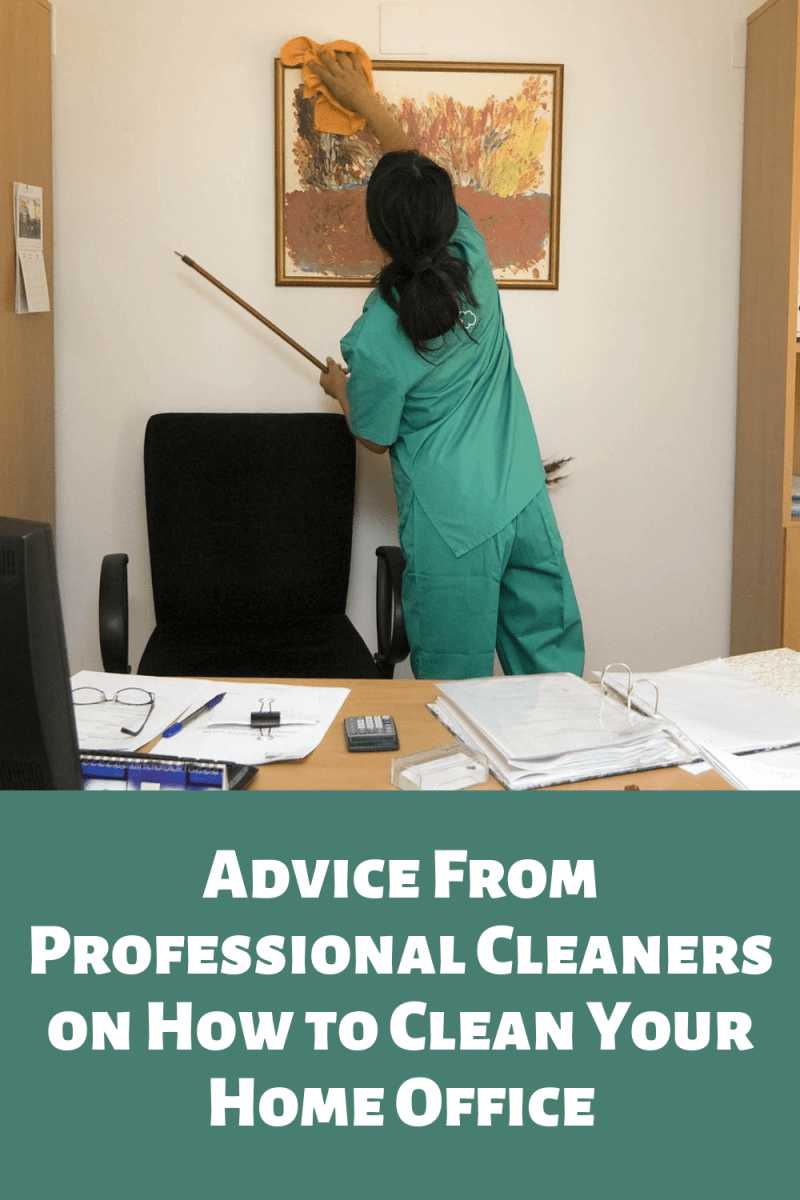 Advice from Professional Cleaners on How to Clean Your Home Office