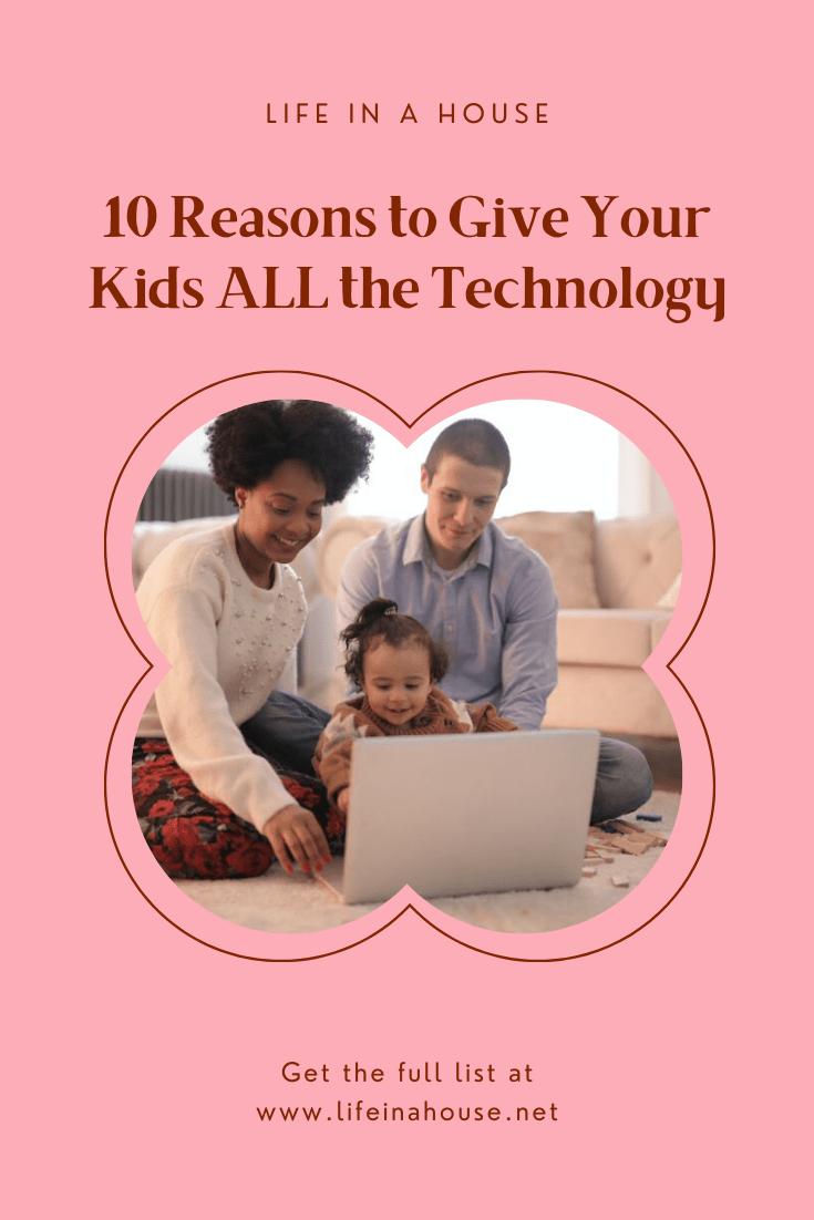 children, teens, tech