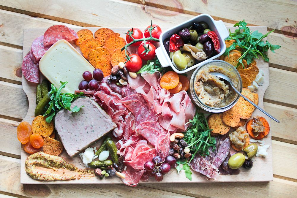 charcuterie-cheese-meat-board