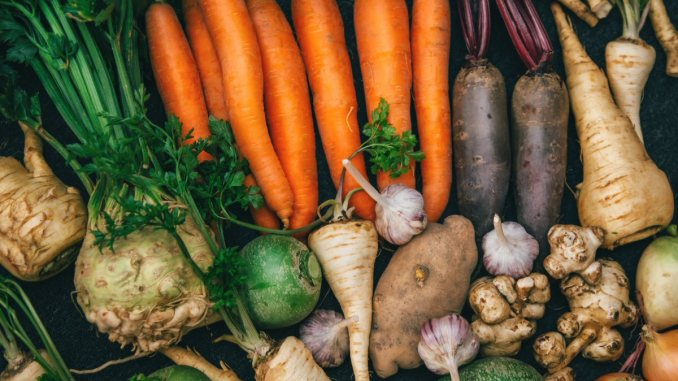 fall and winter root vegetables