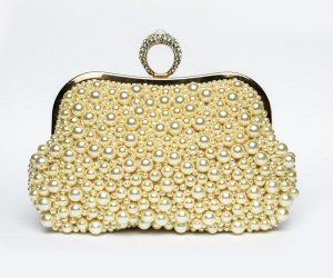 Small Designer Pearl Clutch