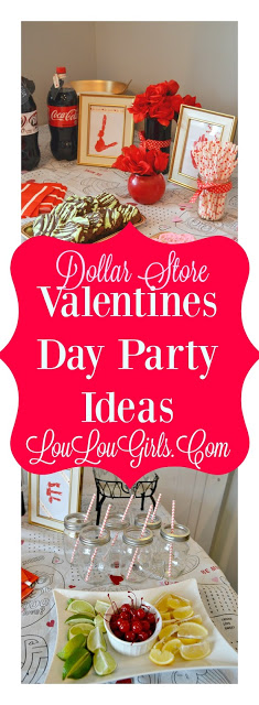 Sunday's Best Featured Post Week 59 - Dollar Store Valentine's Day Party from Lou Lou Girls