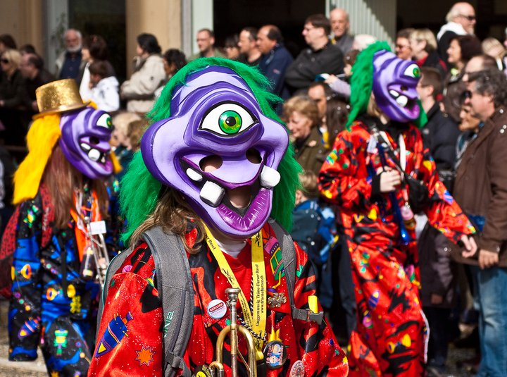 Fasnacht - Photo by Simon Hoggett.
