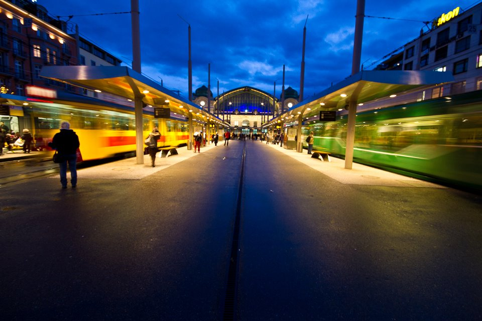 Basel Train Station/ Basel SBB - Photo courtesy of Simon Hoggett