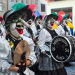 Drums, masks and piccolos at Basler Fasnacht