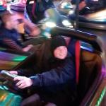 / Bumper cars at the Herbstmesse