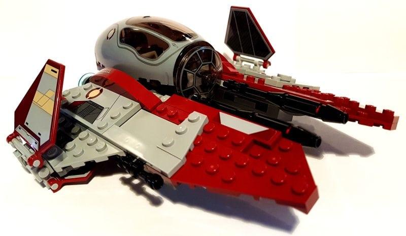 LEGO Star Wars  ObiWans Jedi Interceptor 75135 Review