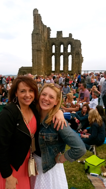 Me and my mate Anna at the Paul Weller concert earlier the year