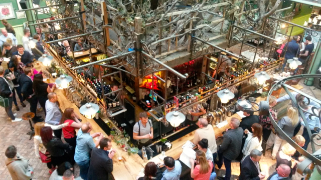 The Botanist is a great place to start a bar crawl
