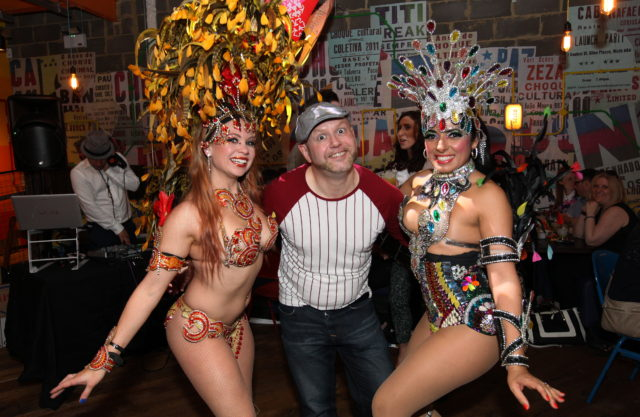 Cabana Launch - Craig Wilde and Salsa Dancers