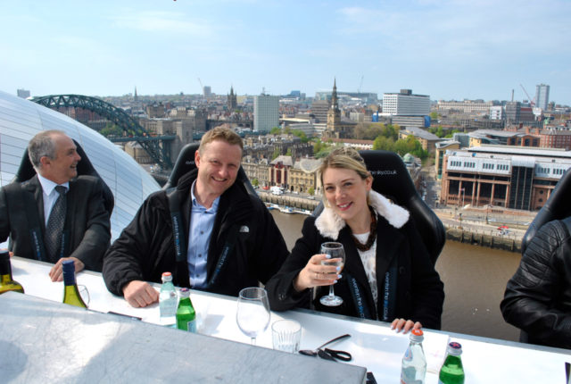 rachel and leon dine by the tyne