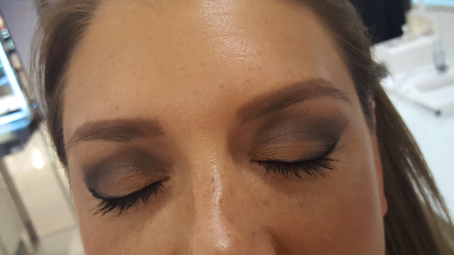 Check out my smokey eyes!