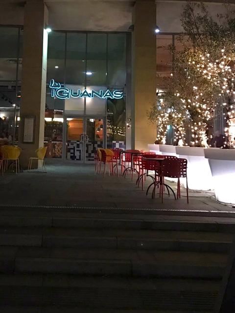 las iguanas quayisde newcastle restaurant