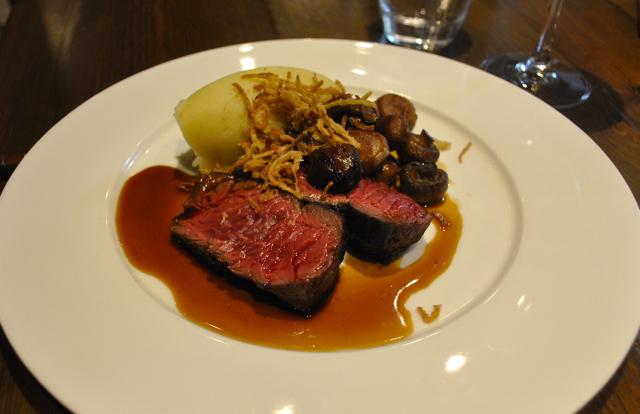 hanger steak from blackfriars