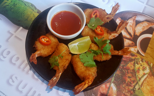 prawn tempura starter newcastle