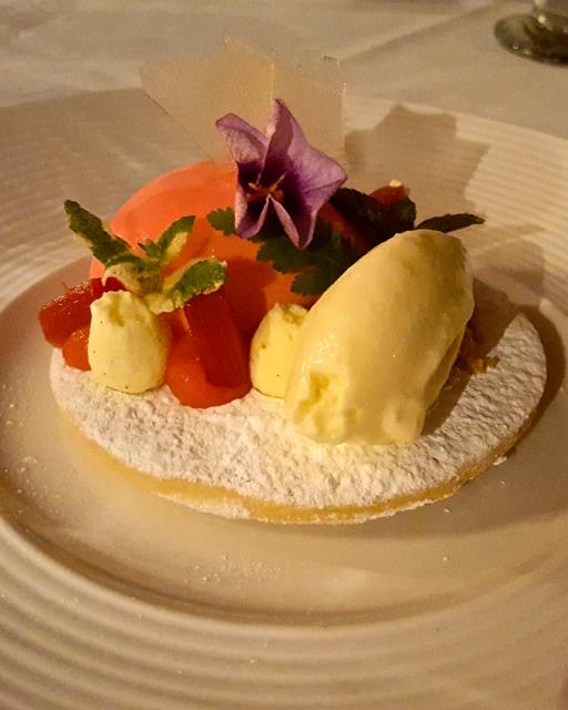amazing dessert in newcastle at jesmond dene house